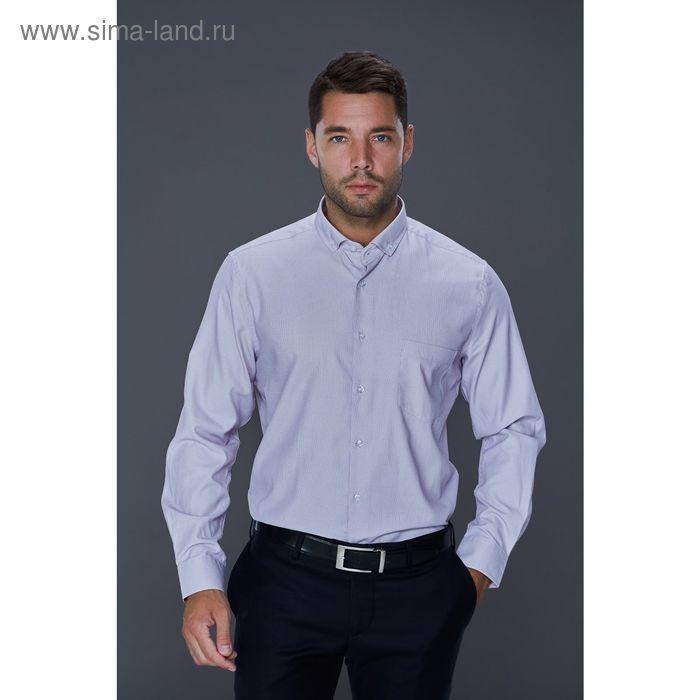 Рубашка мужская John Jeniford JJcy-152406-SL24, slim fit, размер 41