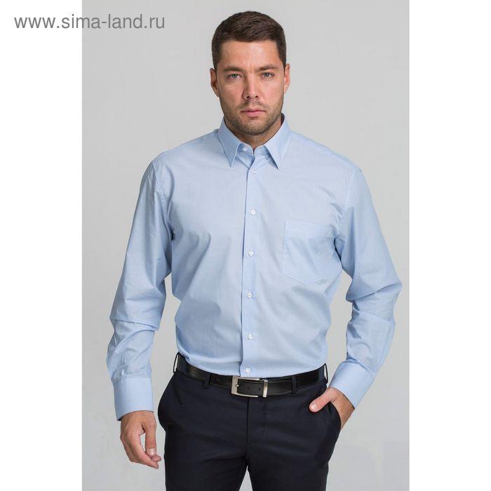 Рубашка мужская John Jeniford JJ-142055-SL2, slim fit, размер 43
