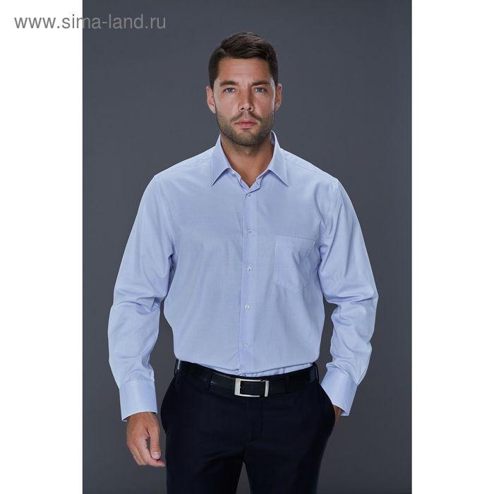 Рубашка мужская John Jeniford JJ-152400-SL2, slim fit, размер 42