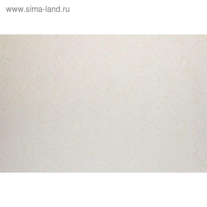 Обои виниловые на флизелине Палитра 35010-12 WallDecor белый  1,06х10м