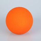 Шар из пенопласта 15 см, оранжевый