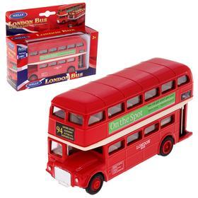 Автобус металлический London Bus