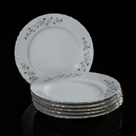 Набор тарелок плоских 25 см, 6 шт