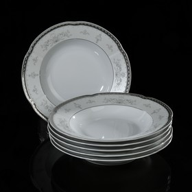 Набор тарелок суповых 22,5 см, 6 шт