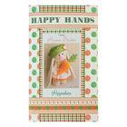 """Набор для изготовления текстильной игрушки Happy hands """"Зайка Морковка"""", 20 см"""