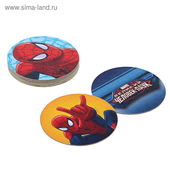 Игральные фишки Человек Паук набор №3 9 шт