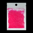 Powder decor for nail art, 3 g, color pink