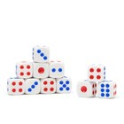 Dice 1.4x1.4 cm packing 100pcs