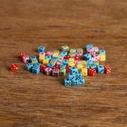 Dice 0.5x0.5 cm, packing 1 000 PCs, mix