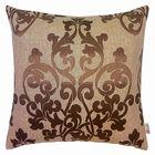 Чехол для декоративной подушки Chocolate, размер 43х43 см, цвет шоколад