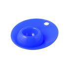 Силиконовая подставка для яйца «Завтрак», размер 12х12х2,5 см