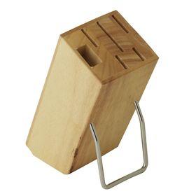 Подставка для набора ножей, гевея