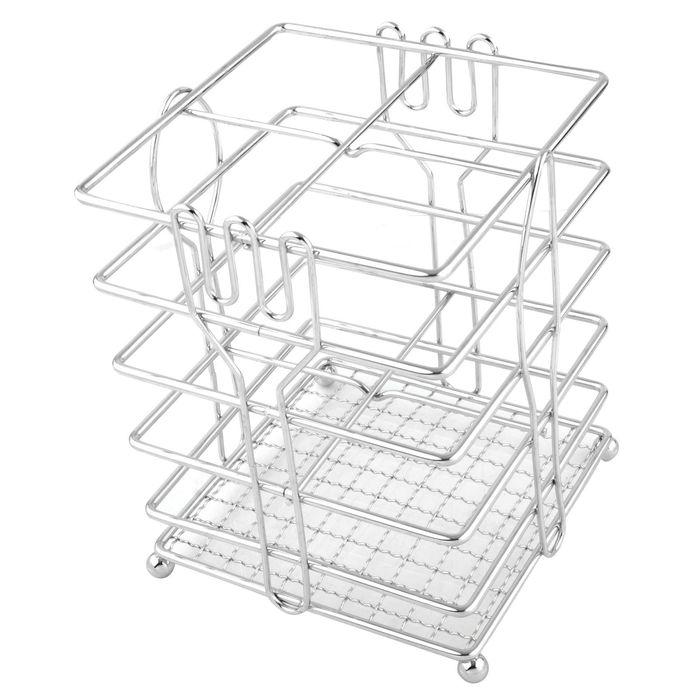 Подставка для столовых приборов Linea TRINA, размер 12х15 см