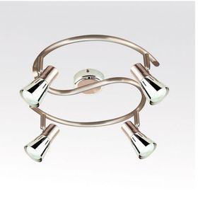 Люстра спот 'Вайпер' 4 лампы R50 60 Вт античная бронза 38х18 см Ош