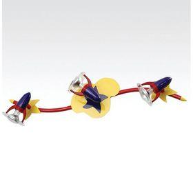 """Люстра спот """"Гэлакси"""" 3 лампы R50 60 Вт 72х15,5х16 см"""