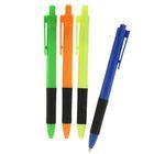 Ручка шариковая, автоматическая, 0.5 мм, Vinson «Тропик», с резиновым держателем, стержень масляный синий, МИКС