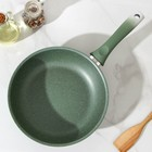 Сковорода , 24×6 см, цвет фисташковый - фото 1683697