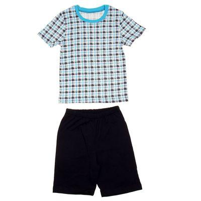 """Пижама для мальчика """"Серия"""", рост 86 см (48), цвет тёмно-синий  УНЖ006001н_М"""