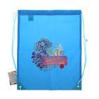 Мешок для обуви 430 х 350 мм Mattel Ever After High, голубой, полиэстер 210den