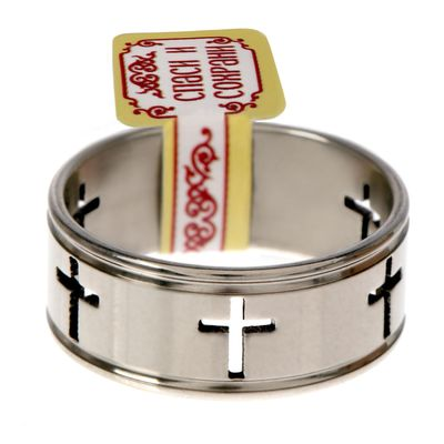 """Ring """"Crosses"""", size 16"""