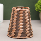 "Vase wicker ""Cane"" a-line"