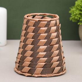Ваза плетёная 'Тростниковая' 10,5*11,5 см Ош