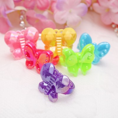 """Ring children's """"Vibracula"""" butterfly light, MIX color"""