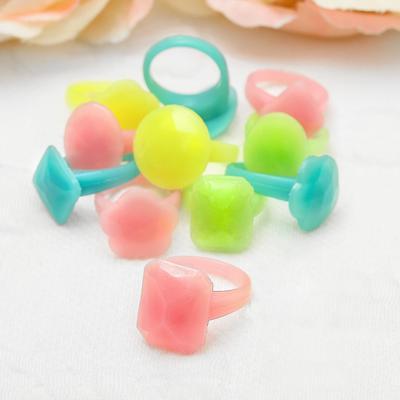 """Ring children's """"Vibracula"""" plain, form MIX, MIX color"""