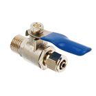 Шаровый кран для присоединения к водопроводу MIC-003