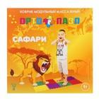 Коврик массажный модульный «ОРТО ПАЗЛ», 8 модулей, 4 вида покрытия, МИКС «Саванна» - фото 105574779