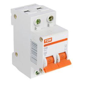 Automatic switch TDM VA47-63, 2p, 40 A, 4.5 kA.