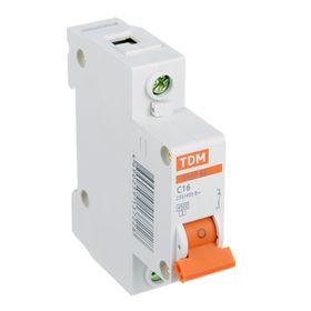 Automatic switch TDM VA47-63, 1p, 16 A, 4.5 kA.