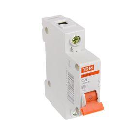 Automatic switch TDM VA47-63, 1p, 25 A, 4.5 kA.