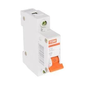 Выключатель автоматический TDM ВА47-63, 1п, 32 А, 4.5 кА Ош