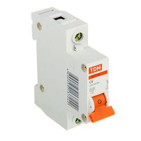 Выключатель автоматический TDM ВА47-63, 1п, 6 А, 4.5 кА Ош