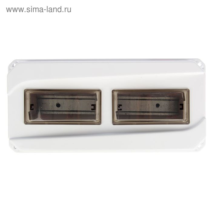 Щит учета TDM ЩРН-12-1ф, IP55, для 1ф счетчика, пластиковый, 167х350х111 мм, SQ0906-0502