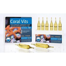 Жиро и водорастворимые витамины для кораллов Coral Vits  (6шт)