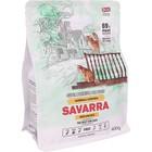 Сухой корм  SAVARRA Adult Cat Hairball  для взрослых кошек, утка/рис 400 г
