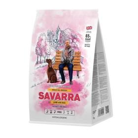 Сухой корм SAVARRA Adult Dog Lamb для взрослых собак, ягненок/рис, 12 кг.