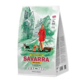 Сухой корм SAVARRA Adult Dog Small Breed для взр. собак мелких пород, утка/рис, 1 кг.