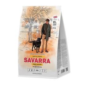 Сухой корм SAVARRA Adult Dog Turkey для взр. собак, индейка/рис, 12 кг.