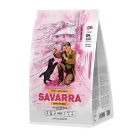 Сухой корм SAVARRA Puppy Large Breed для щенков крупн. пород, ягненок/рис, 12 кг.