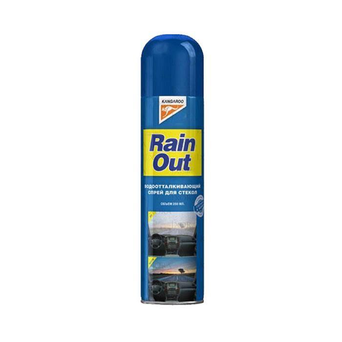 Спрей водоотталкивающий Rain out для стекол, 250мл