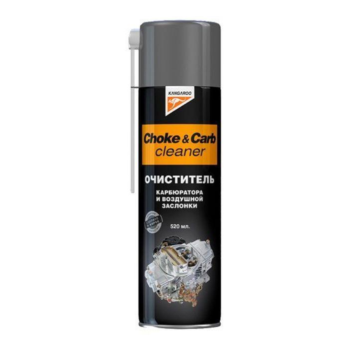 Очиститель карбюратора и воздушной заслонки Choke&carb cleaner, 520мл