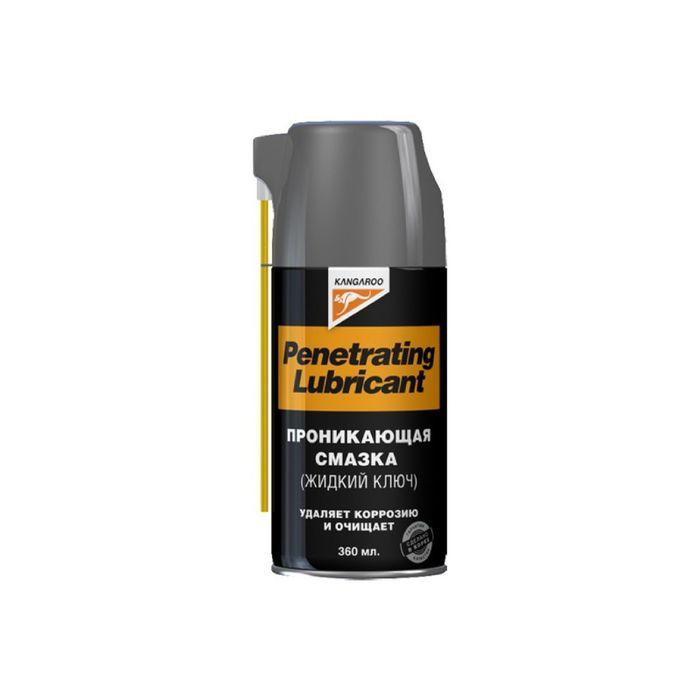 Проникающая смазка Penetrating Lubricant (жидкий ключ), 360 мл