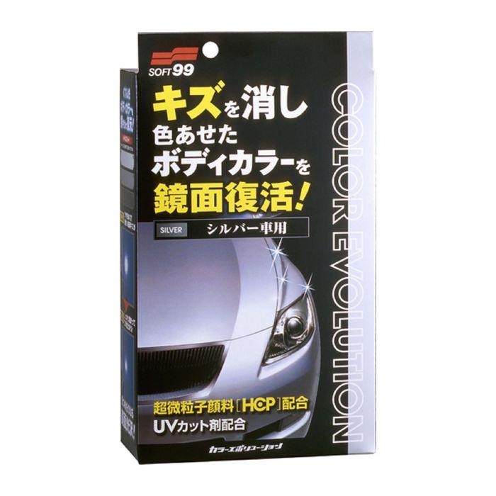 Полироль для кузова Soft99 Color Evolution Silver для серебристых поверхностей, 100 мл