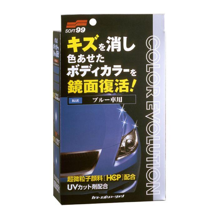 Полироль для кузова Soft99 Color Evolution Blue для синих поверхностей, 100 мл