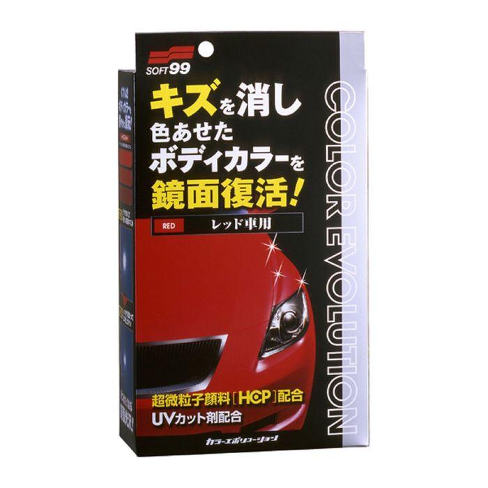 Полироль для кузова Soft99 Color Evolution Red для красных поверхностей, 100 мл