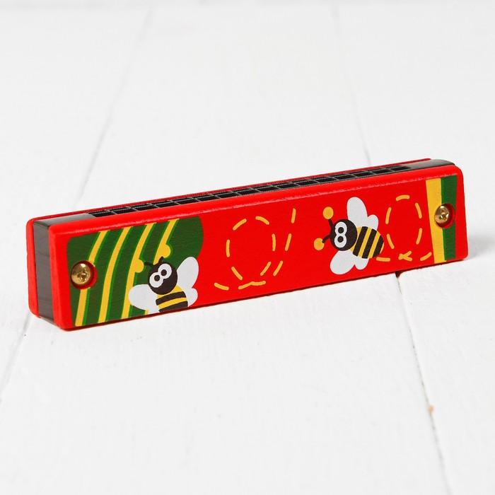 """Игрушка музыкальная """"Губная гармошка. Солнечный день"""", МИКС"""