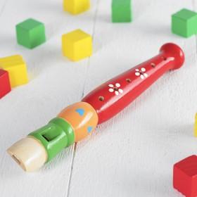 Музыкальная игрушка «Дудочка средняя», цвета МИКС